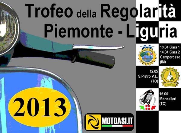 Trofeo Regolarità Piemonte-Liguria 2013