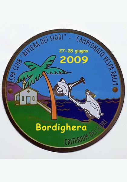 27-28/06/2009 - BORDIGHERA - Camp. Europeo Vespa Rally ''2° Criterium dei Fiori''