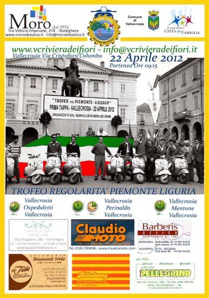 22/04/2012 - VALLECROSIA - 1a prova Trofeo Regolarità Piemonte Liguria