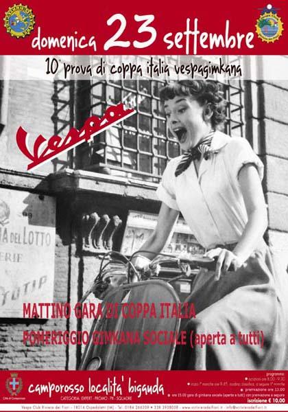 23/09/2012 - CAMPOROSSO - 10a prova Coppa Italia Vespa Gimkana