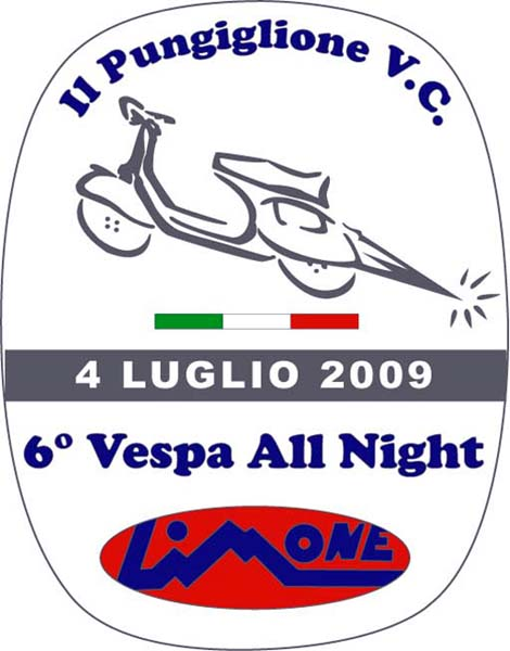 """6° VESPA ALL NIGHT"""