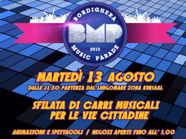 """BMP"" - Bordighera Music Parade"